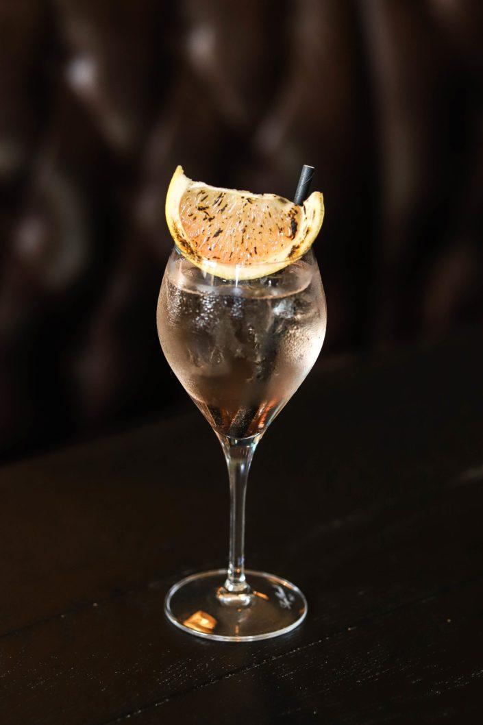 Cocktail au Hibou Blanc Megève