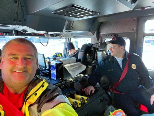 Fire Truck Selfie