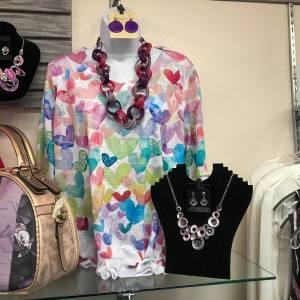 rae baxters heart shirt