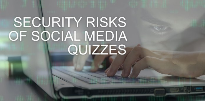 social media quizzes risk