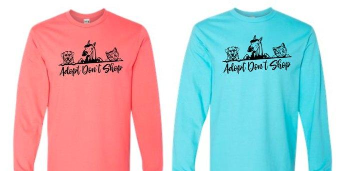 adopt dont shop shirts