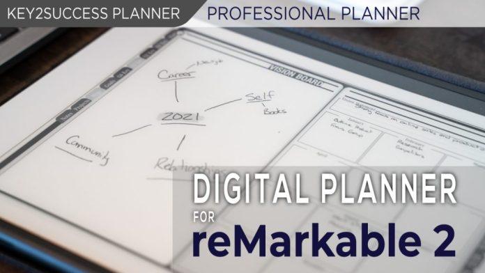 reMarkable 2 Digital Planner