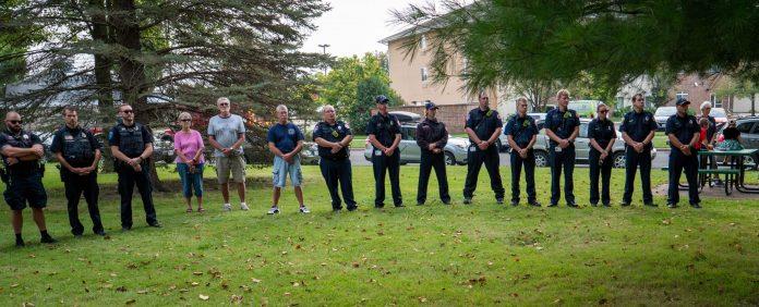 Marshfield first responders