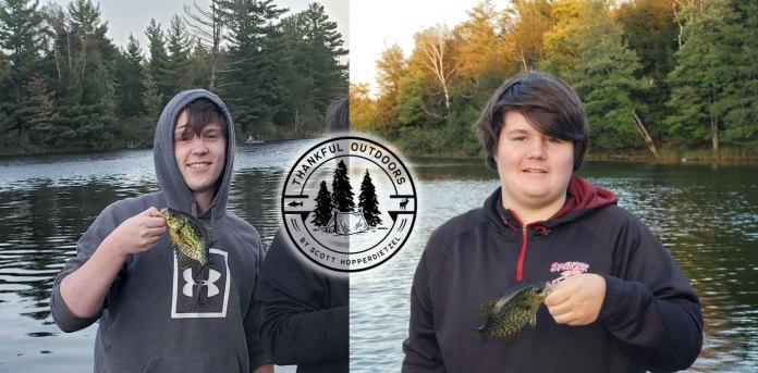 thankful outdoors fishing