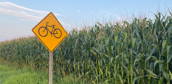 marshfield bike sign