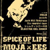 MOJA × ELECTRIC EEL SHOCK を迎えて恒例イベント「Spice of Life」開催決定