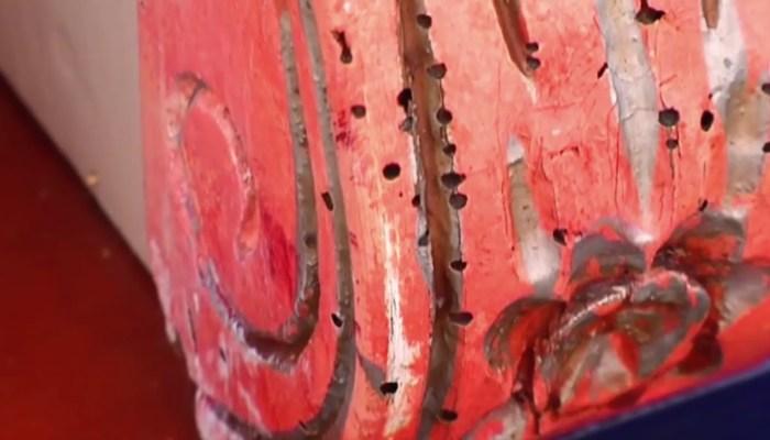 Eeuwenoud draaiorgel uit Zuidlaren slachtoffer van houtworm