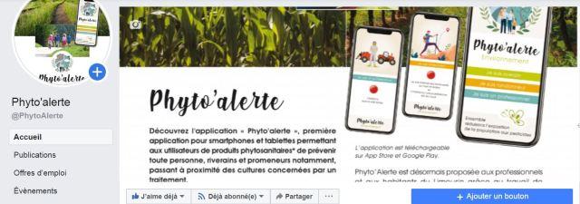 Capture FB PhytoAlerte