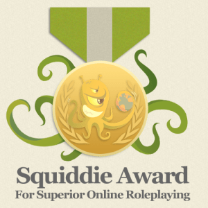 OngoingWorlds Medal for Superior Online Role Playing