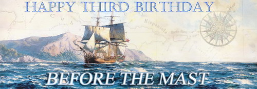 Happy 3rd Birthday to Before the Mast