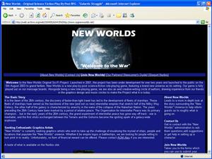 Old new worlds website