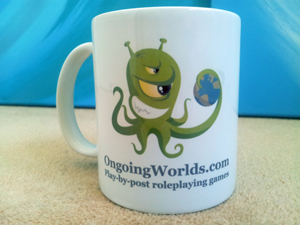 Mug - competition prize