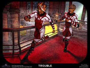 Trouble by David Collins