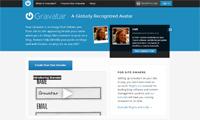 Gravatar homepage