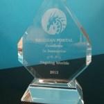 Obsidian Portal excellence in innovation award 2013