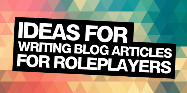 ideas for writing blog articles
