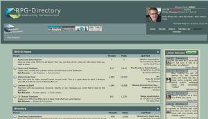 RPG-Directory screenshot
