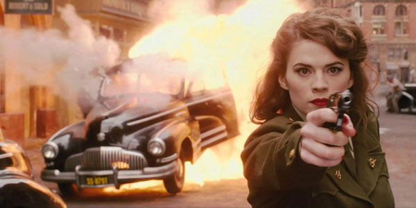 Peggy carter is a strong female character, but that doesn't make her a mary sue