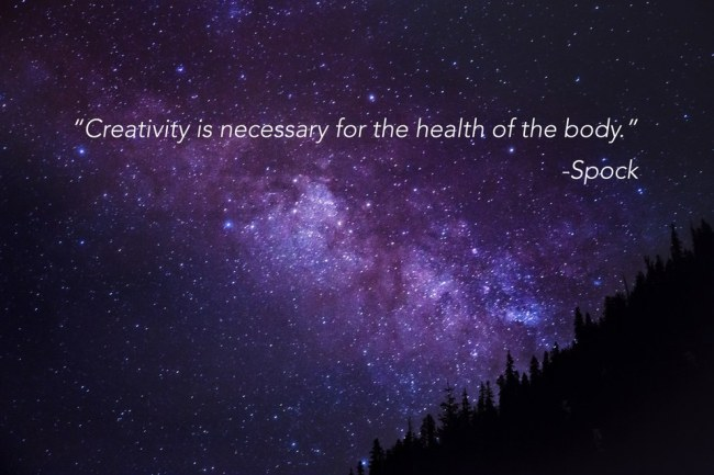 creativity is necessary for the health of the body