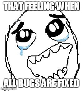 all bugs fixed