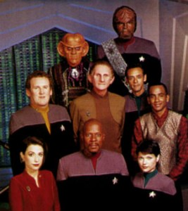 Star Trek: Deep Space Nine season 7 publicity photo
