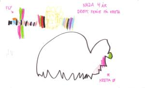 tegning tegnet af tegning tegnet af anbragt barn børnehjælpsdag barn