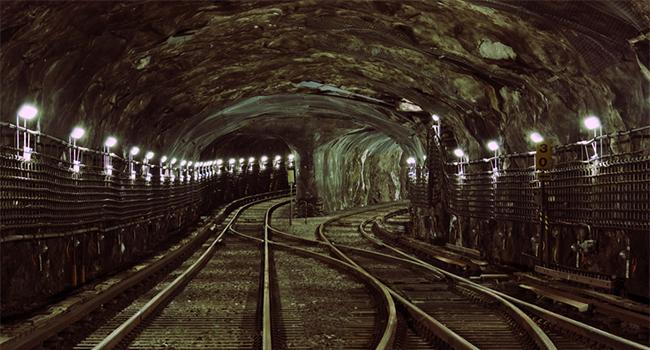 Tunel de Metro