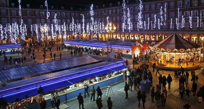 Mercadillo Navidad - Madrid
