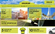 We have the winners of the trip to New York and other great Goldcar prizes!!