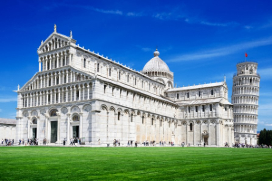 ruta por la Toscana en pisa