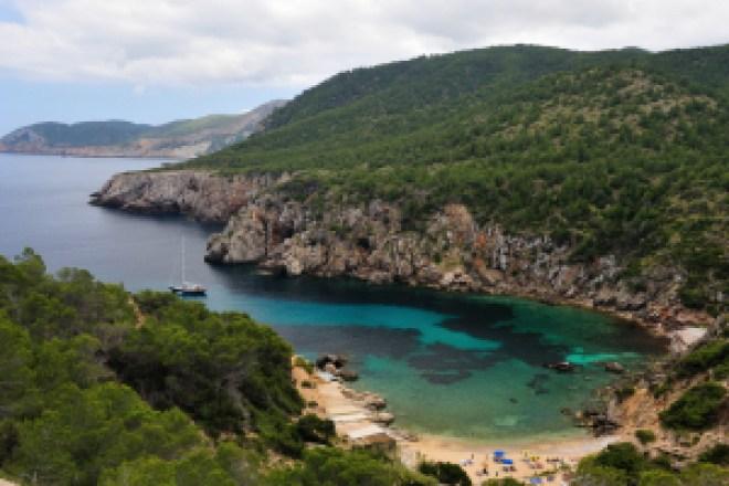 Mejores calas de Ibiza, d´en Serra