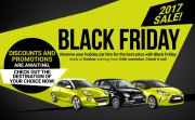 Ready for the Black Friday at Goldcar?