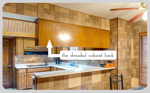 1970 u0027s kitchen reno  dreaded cabinet bank 1970 u0027s kitchen reno tips   on house and home  rh   onhouseandhome com