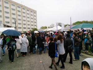 和泉市周辺の住民が集まってきました