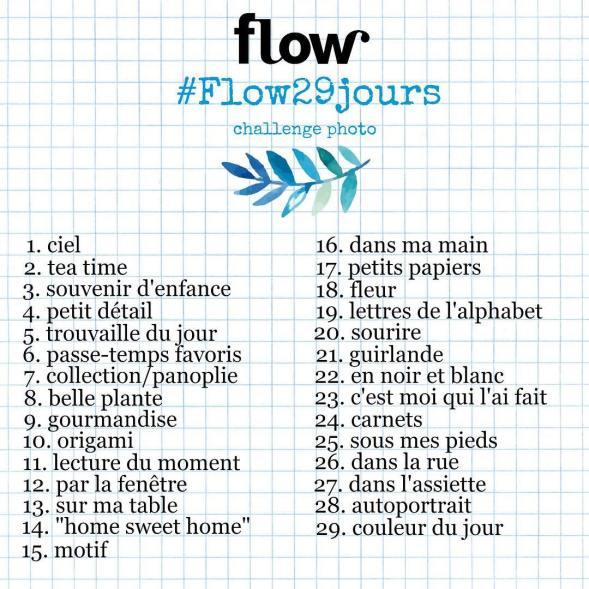 Le challenge FLOW