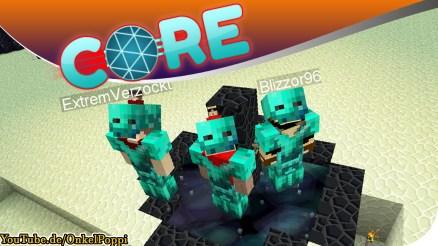 Minecraft Core,Core,Minecraft,Sky Block,Sky Factory 4,BaastiZockt,BastiZockt,Balui,Blizzor,Castcrafter,Clym,Debitor,EasyLucaYT,Earliboy,ExtremVerzockt,Gamerstime,G-Time,Items4Sacret,Katze,LarsLP,MissFlocke,MrMoregame,OnkelPoppi,RGBPixel,Stexi,SparkofPhoenix,Zinus