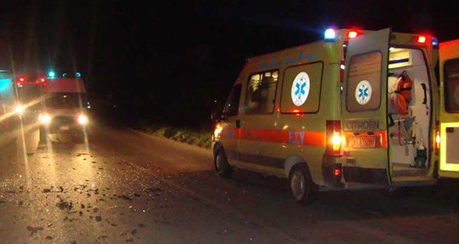 Σοκ: Νεαρός άντρας έχασε την ζωή σε τροχαίο έξω από την Λάρισα τα ξημερώματα- Επιχείρηση για τον απεγκλωβισμό του