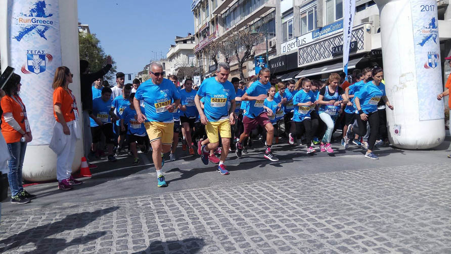 RUN GREECE στη Λάρισα: Τα παραλειπόμενα και τα χιουμοριστικά όπως τα είδε ο φακός του onlarissa