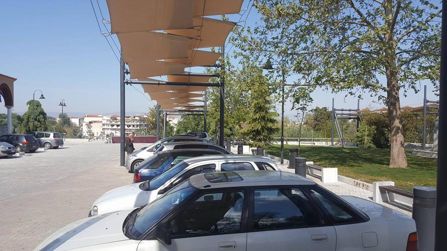 """""""Ωραίο"""" πάρκινγκ το βιοκλιματικό έργο στον Αγ. Αχίλλιο (Φωτό)"""