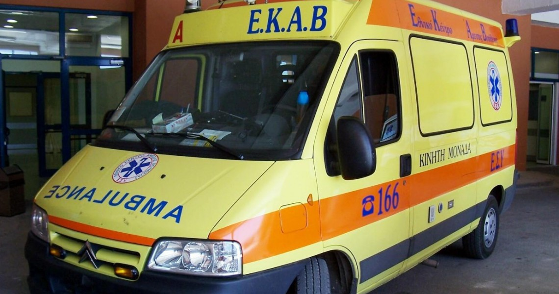 Καραμπόλα αυτοκινήτων στη Γιάννουλη – Εγκλωβίστηκε οδηγός