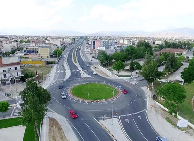 Εδώ θα γίνουν οι τρεις νέοι κόμβοι στη παλιά εθνική οδό Λάρισας - Θεσσαλονίκης - Δείτε το χάρτη