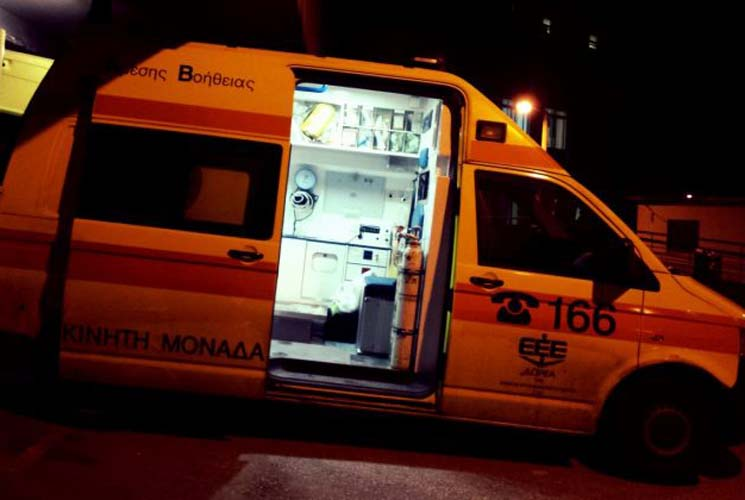 Τροχαίο με έναν τραυματία στη Λάρισα