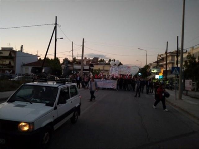 antir3 - Εκατοντάδες διαδηλωτές ενάντια στην κυβέρνηση και το Αναπτυξιακό Συνέδριο (ΦΩΤΟ)