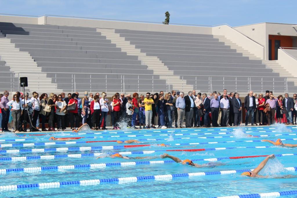 Εγκαινιάστηκε το Δημοτικό Κολυμβητήριο – στολίδι για τη Λάρισα (ΦΩΤΟ)