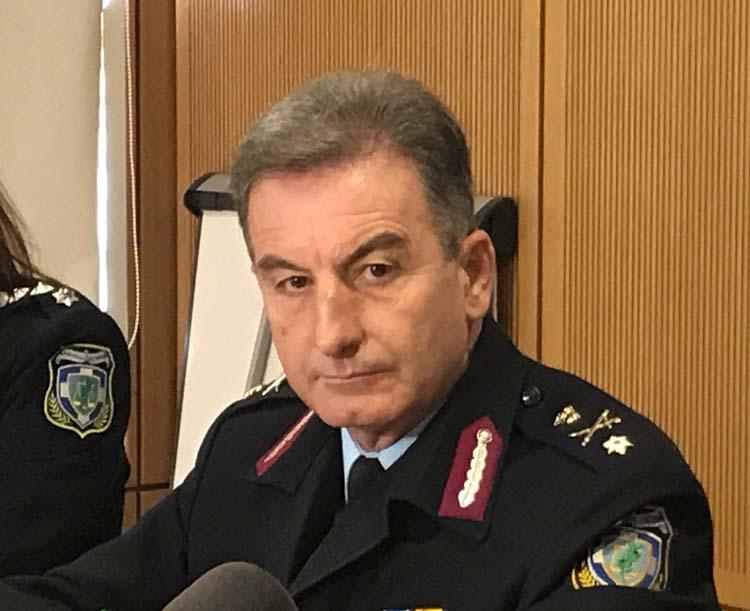 Αποστρατεύτηκε ο αστυνομικός διευθυντής Λάρισας Γιώργος Αγάκος - Τι έγινε με τις κρίσεις της ΕΛ.ΑΣ.