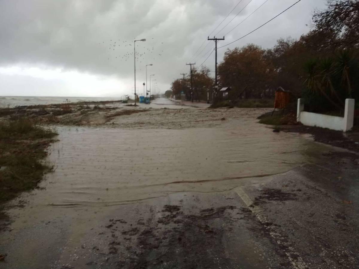 """Εικόνες βιβλικής καταστροφής στα παράλια της Λάρισας - Το """"κατηγορώ"""" γνωστού επιχειρηματία"""