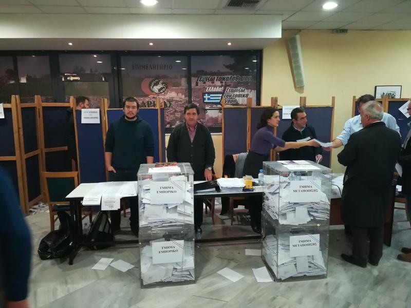 Τα αποτελέσματα των εκλογών για το Επιμελητήριο στην Ελασσόνα