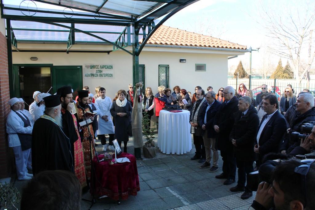 Κεντρικό μαγειρείο απέκτησε ο Δήμος – Παράγει παραπάνω από 2.000 μερίδες φαγητού καθημερινά (ΦΩΤΟ)