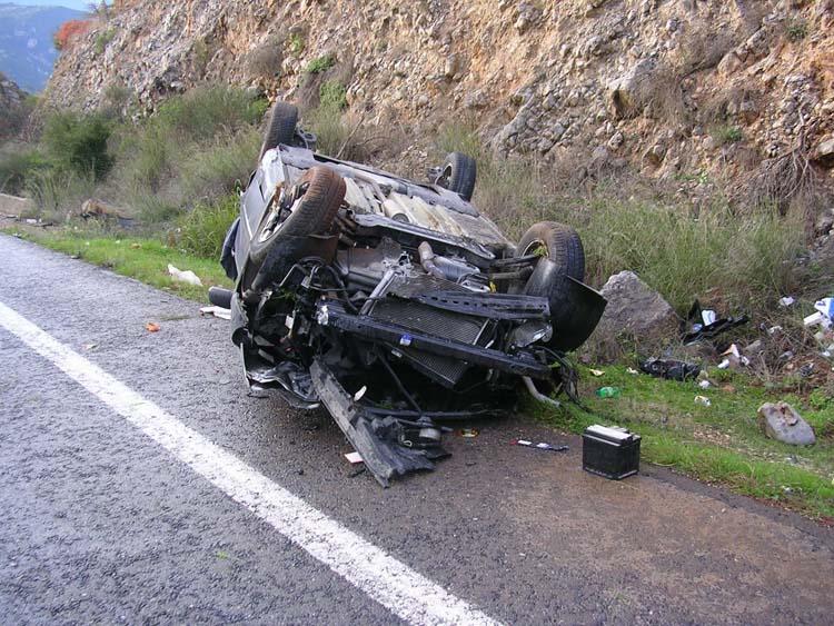 Σκοτώθηκε σε τροχαίο 27χρονος στο Λιτόχωρο – Τραυματίστηκε ο 28χρονος Λαρισαίος φίλος του