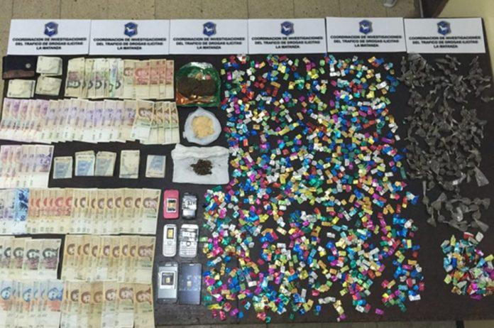 Secuestraron 2 mil dosis de paco en La Matanza (2)